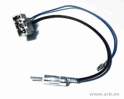 Antenne adapterkabel for Honda og Nissan