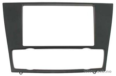 For BMW 1er E81/82/87/88 (2004-), 3er E90/91/92/93 (2005-). Black, rubber touch surface.