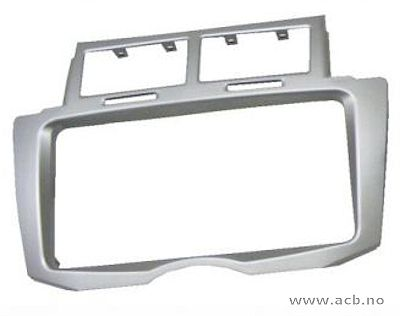 2-DIN ramme for Yaris 2009 - 2010