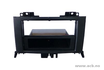 1-DIN / 2-DIN ramme for Crafter