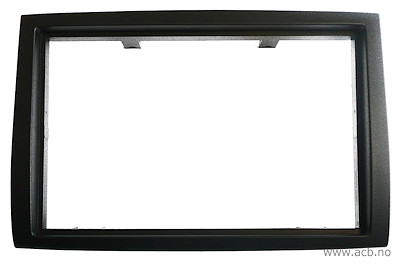 Dobbel DIN ramme for Citroen Jumper 2006 -