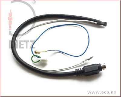 Kenwood kabel for 67-serie rattadapter.