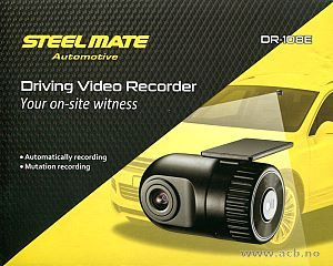 DR-108E dashcam for A/V-system